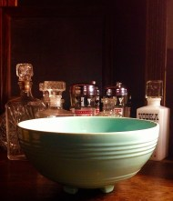 Pacific Pottery punch bowl
