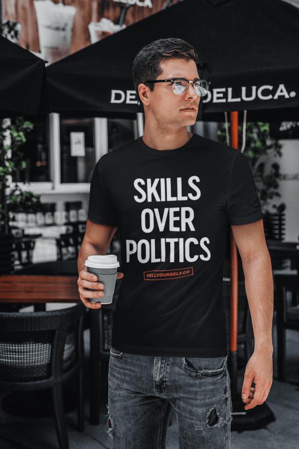 Skills Over Politics (Undercover Super Hero)