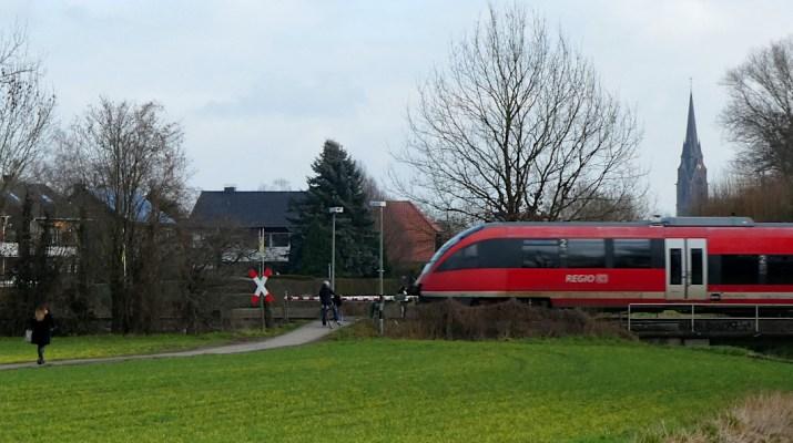 Regionalbahn in Selm