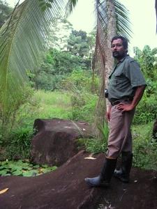 Foto van ecoloog Ajantha Palihawadana.