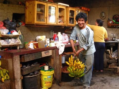 Koffieboer Alejandro, Peru.