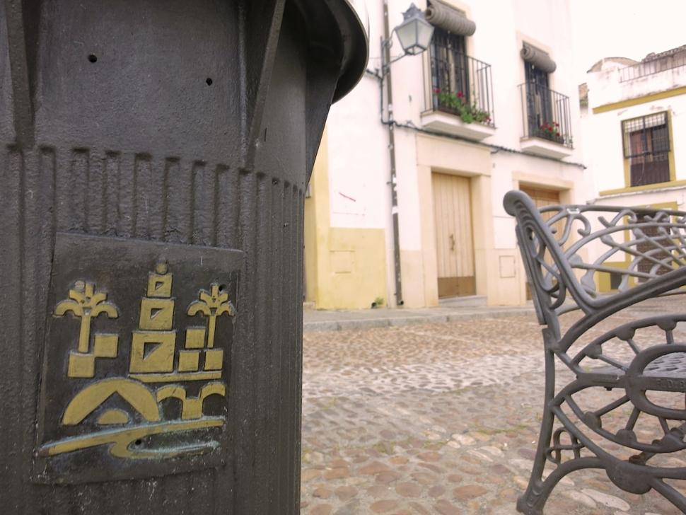 Foto van het labyrint (een plein in Córdoba).
