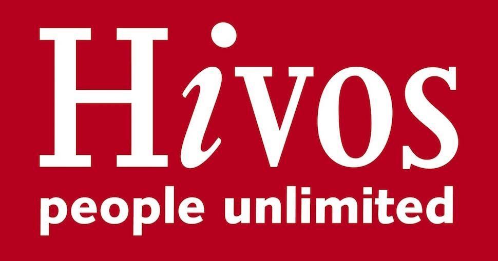 Foto van het logo van Hivos.