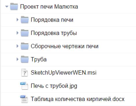 Содержание комплекта документации