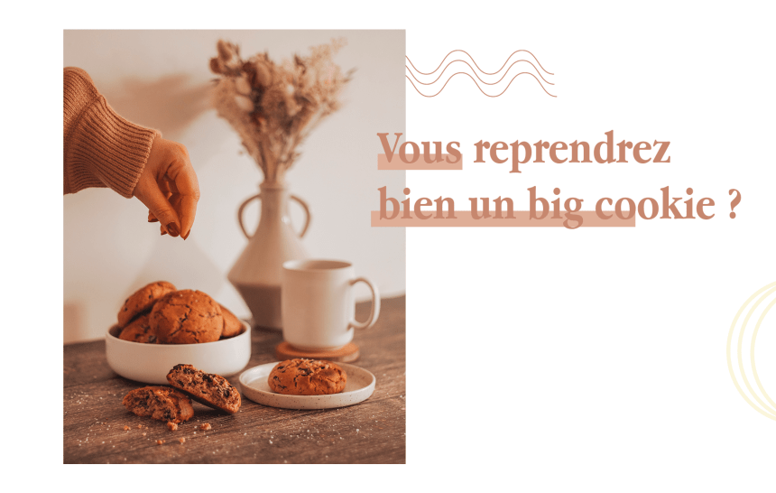 BIG COOKIES EN FOLIE – AU CHOCOLAT