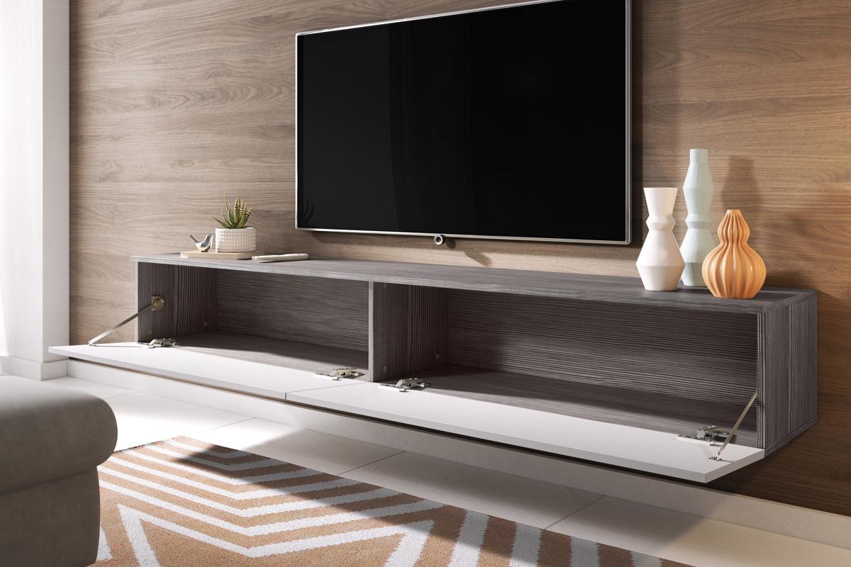 kane floating tv cabinet 180 cm selsey