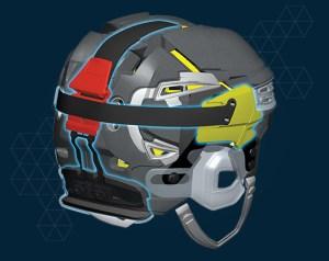 Bauer RE-AKT 100 Helmet fit
