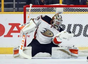 John Gibson, Anaheim Ducks goalie