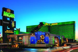 MGM Grand in Las Vegas, premier Hotel and Casino of MGM Resorts