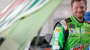 Dale Earnhardt Jr. admitted to driving with a concussion after a crash at Talladega Superspeedway took out his No. 88 Chevrolet