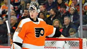 Carter Hart has returned stability to the Flyers crease in his rookie season