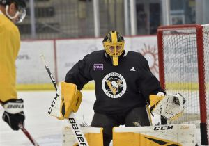 Casey DeSmith spent the entirety of the 2019-20 campaign in the AHL, with Wilkes-Barre/Scranton
