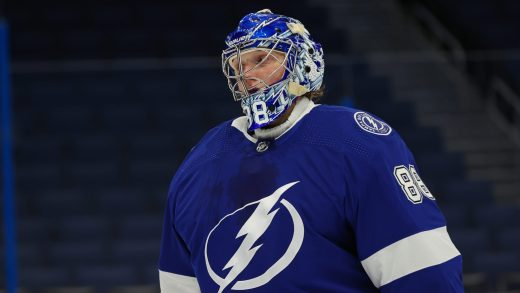 Andrei Vasilevskiy, Tampa Bay Lightning. (from NBC Sports)