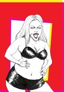 Britney Spears Illustration