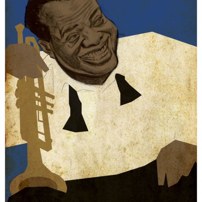 Satchmo Illustration