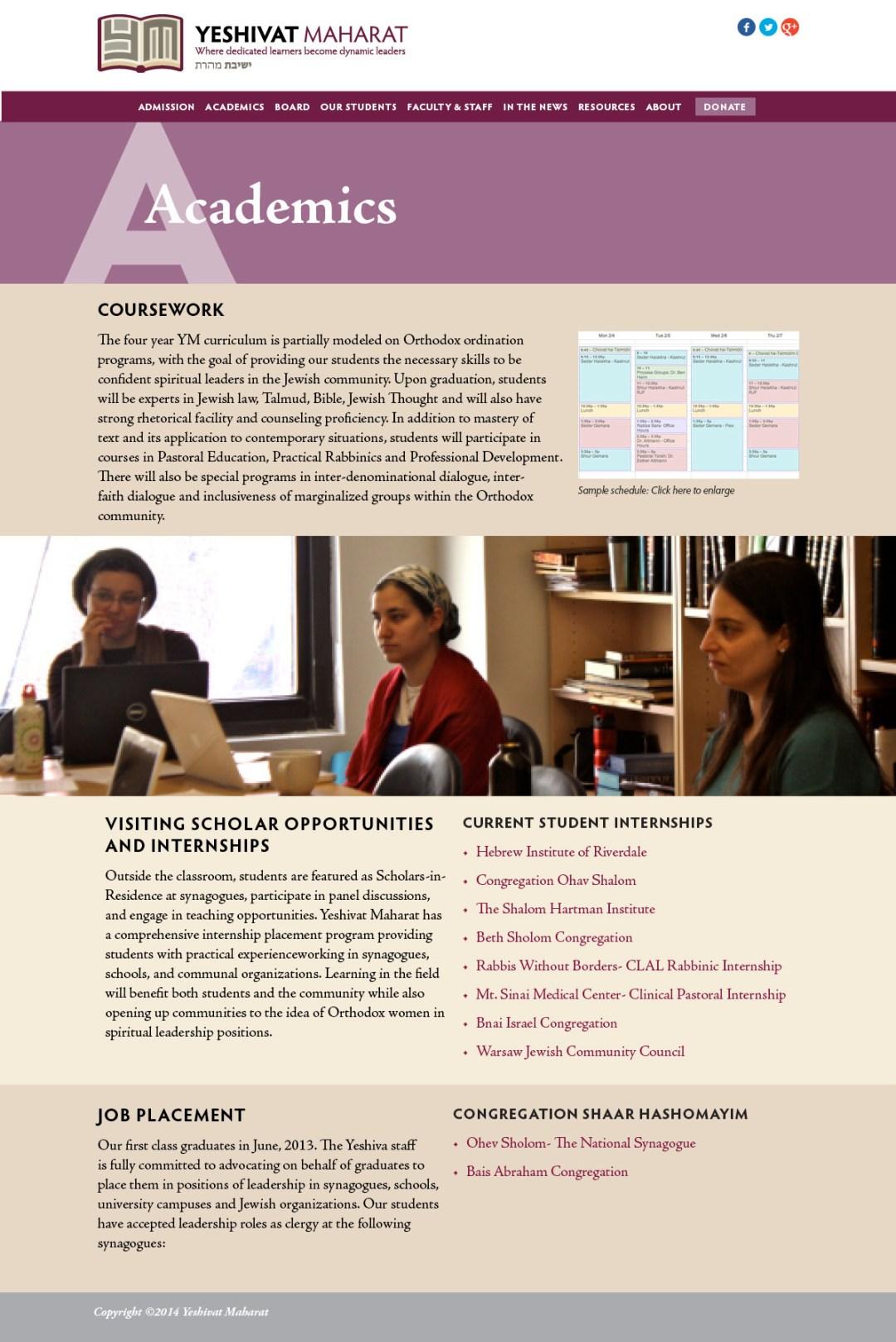 Yeshivat Maharat Scholarship