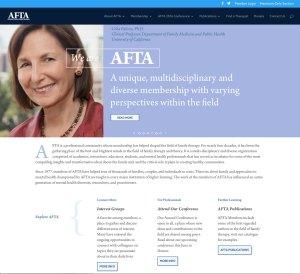 AFTA homepage
