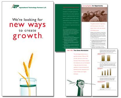 ATP brochure Print Design