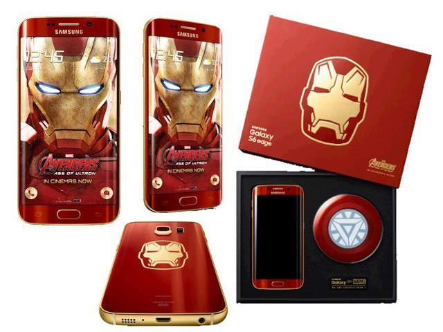 Samsung S6 Iron Man Limited Edition