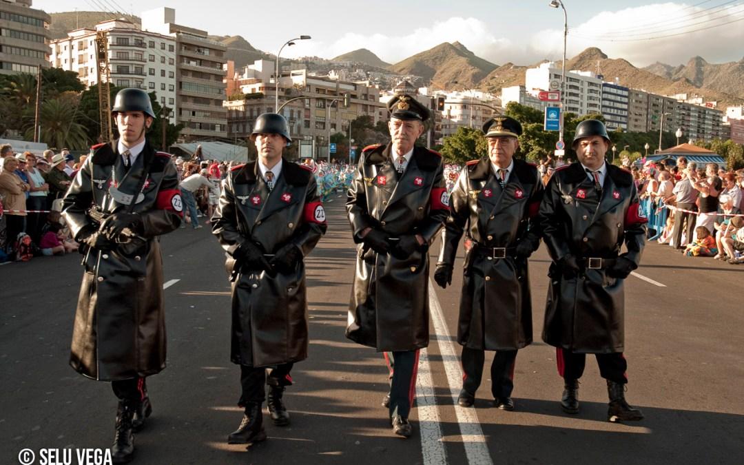 Carnaval de Tenerife, Coso