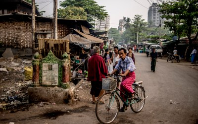 Mingalar Taung Nyunt, the dignity's shanties Daily life in one of the poorest slums in Yangon, Myanmar