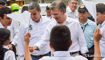 Visita del presidente Santos al Caquetá. Fotografía KamiloArdila