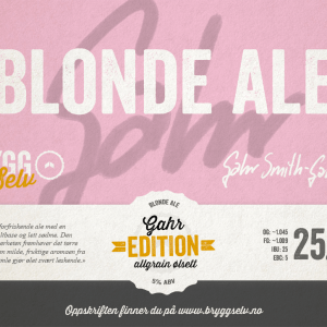 Blond Ale All Grain Ølsett