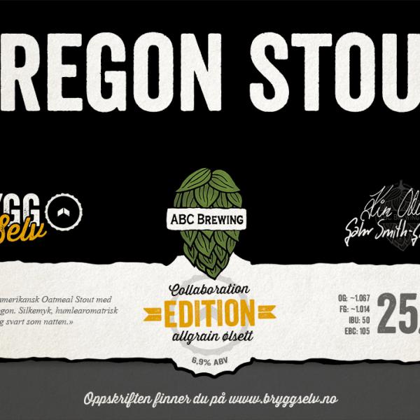 Oregon Stout Ølsett