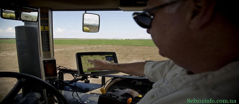 GPS навигаторы для трактора