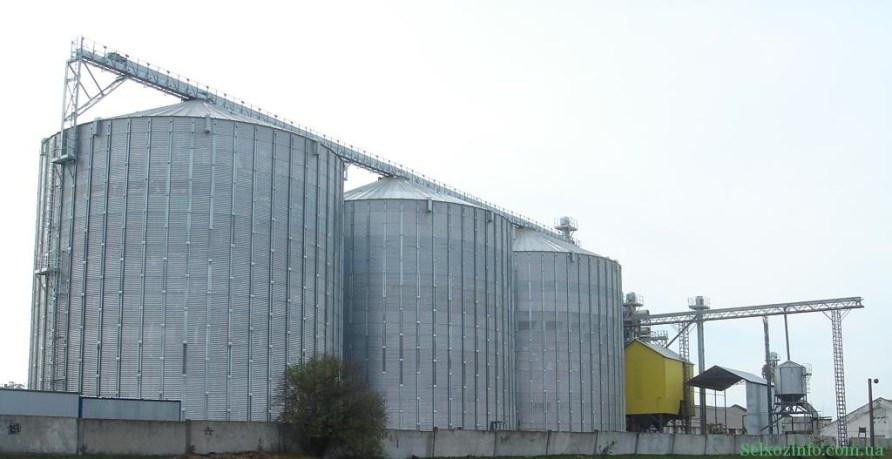 Зернохранилища Украині