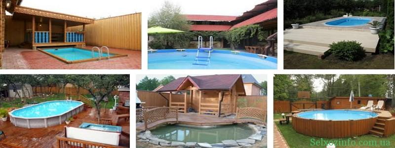 Особенности проектирования бани с бассейном