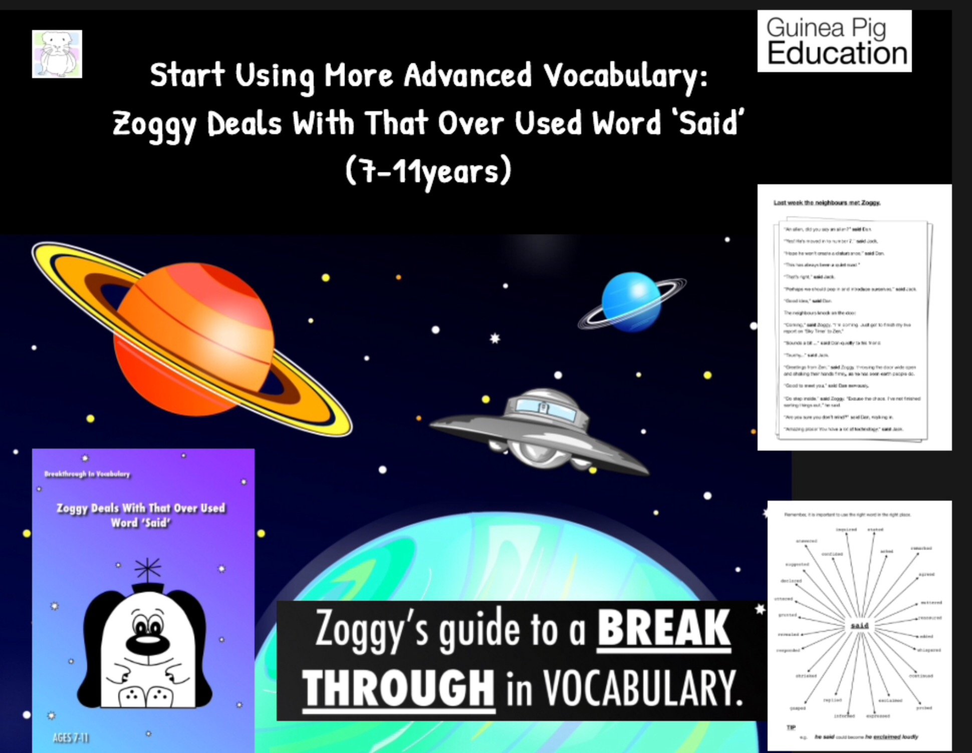 Zoggy Deals With That Over Used Word Said Breakthrough
