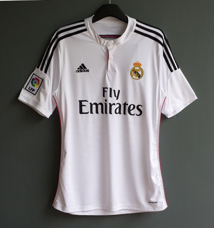 NEW SEASON 2014-2015 REAL MADRID HOME JERSEY SHIRT ...