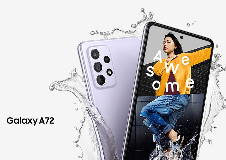 مميزات سامسونغ جلاكسي آي 72 Samsung Galaxy A72