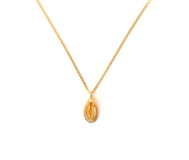 Tuza The Vagina Charm Necklace