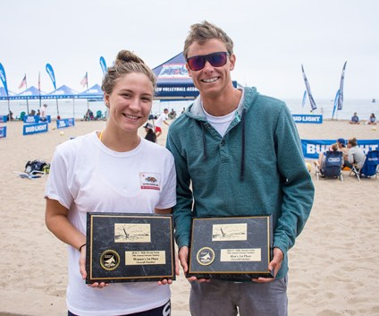 Olivia Smith and Chris Braden