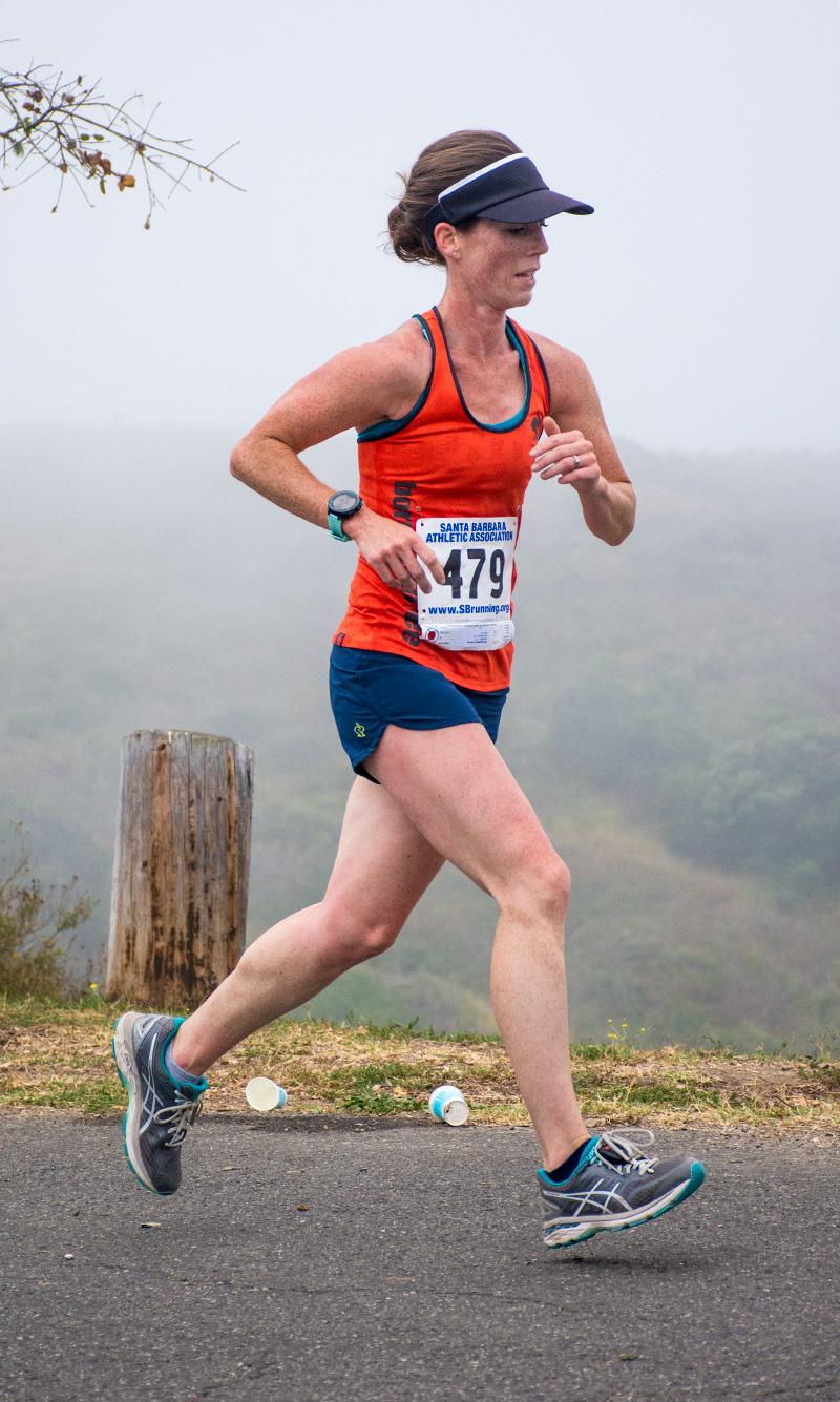 Semana Nautica 5K winner Lauren McClanahan