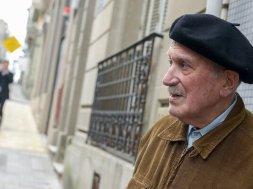 Julio Marenales en el juzgado de Juan Carlos Gómez. Foto: Santiago Mazzarovich/adhocFotos