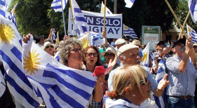 Movilizacion #Un Solo Uruguay