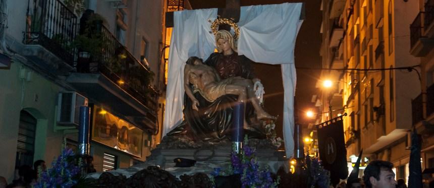 Foto del paso de la Virgen de las Angustias