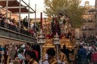 Foto llamada oracion2012-01 que representa Oración en el Huerto de Linares después de girar desde calle Cambroneras encarándose hacia Plaza del Ayuntamiento