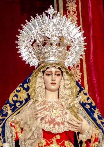 Virgen de Las Penas en la cuaresma de 2021