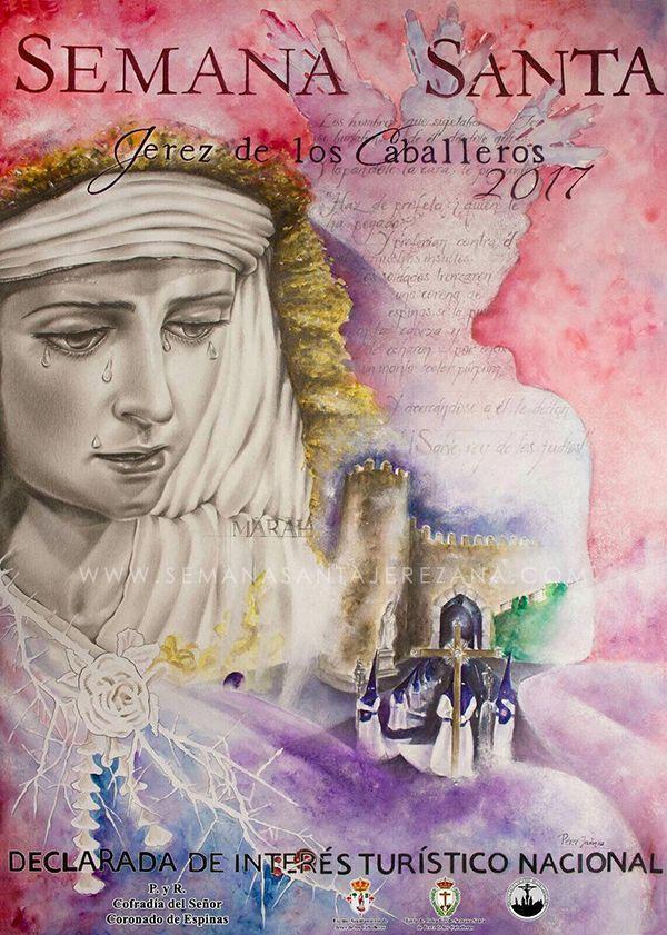 Cartel de la Semana Santa de Jerez de los Caballeros 2017