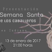 invitación a la presentación del cartel oficial de semana santa