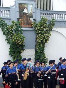 agrupacion musical maestro sousa hermanas de la cruz jerez de los caballeros convento 75 aniversario