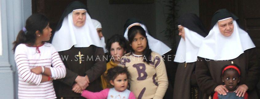 hermanas de la cruz jerez de los caballeros 75 aniversario convento