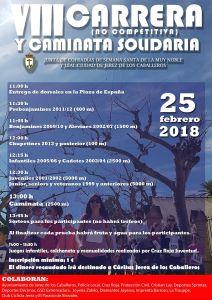 informacion de la 8 carrera y caminata solidaria jerez de los caballeros informacion y horarios