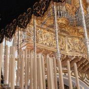 Virgen de la Paz semana santa de Jerez de los Caballeros jueves santo