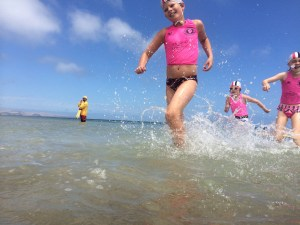 juniors wading 1