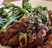 lamb shanks as an example only